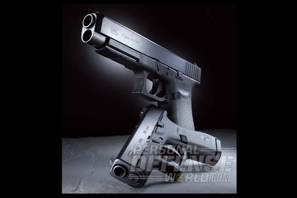 New Glock 41 Gen4 .45 ACP & Glock 42 .380 ACP