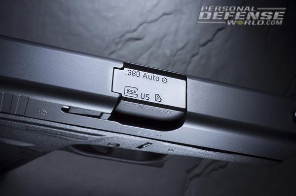 Glock 42 Slide