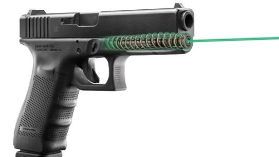 LaserMax Green Guide Rod Laser for Glock Pistols