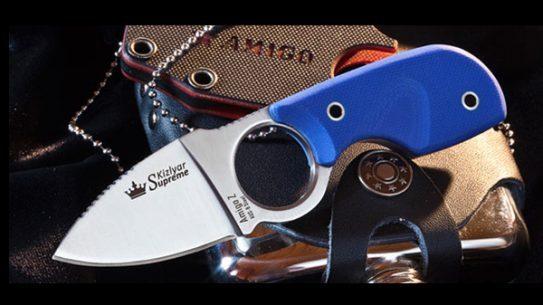 Kizlyar Sumpreme's Amigo-Z Aus8 Satin Knife