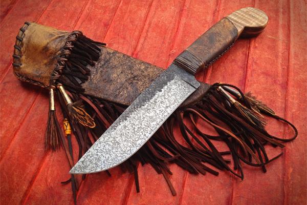Levi Graham Pistol Grip Knife