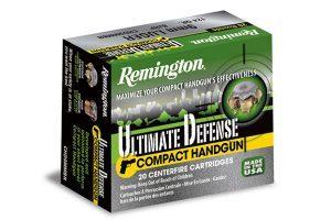 Remington Ultimate Defense Ammo