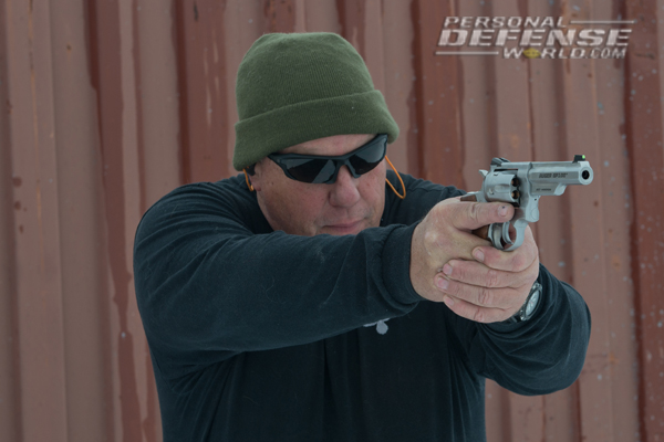 Ruger GP100 Match Champion - Ready for action