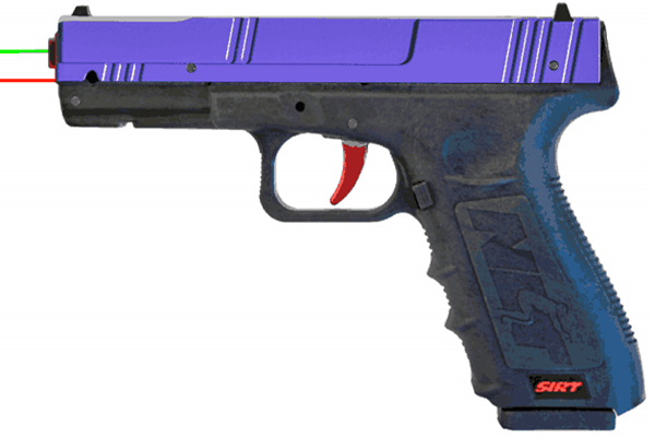 SIRT Purple Pro Green Shot