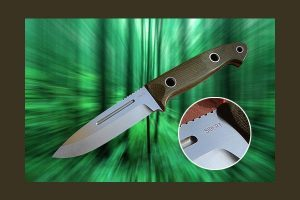 Sibert Knives' Cascadia Bushmaster Knife