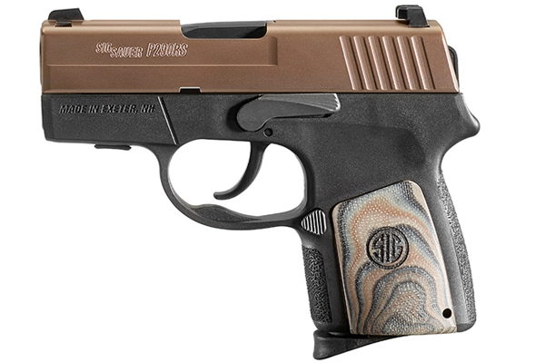Sig Sauer P290 Enhanced Brown