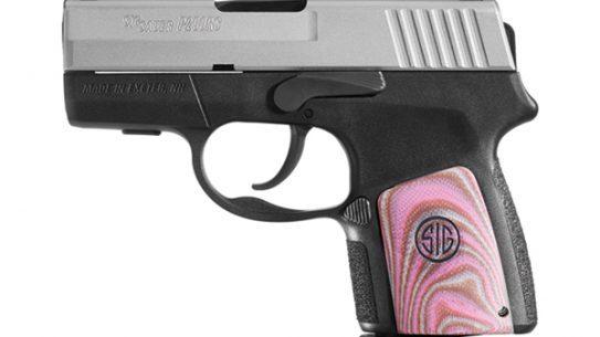Sig Sauer P290 Enhanced Pink