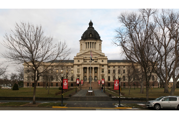South Dakota has approved a bill allowing legislators and other elected officials to carry firearms in the state Capitol building.