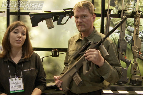 Steyr arms l9 a1 pistol aug m1 rifle new for 2014 video voltagebd Gallery