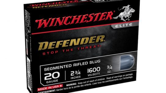 Winchester's Defender 20-Gauge Slug