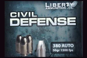 Liberty Ammunition . 380 Civil Defense Ammo