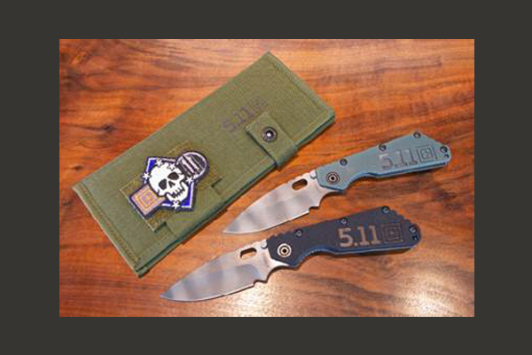 Strider/5.11 Tactical SMF knife