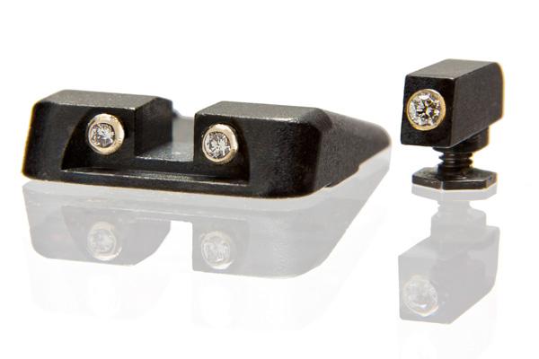 Armored Jewels Glock Gunsights