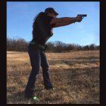Julie Shooting   Green Belt