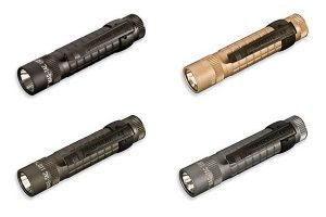 MAG-TEC LED Flashlights - Black, Coyote Tan, Foliage Green & Urban Gray