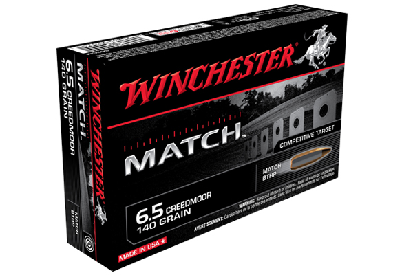 Winchester Match 6.5 Creedmoor Ammo