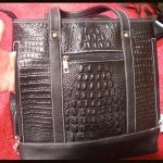 Roma Leathers Large Concealment Purse