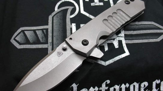 Crusader Forge FIFP Fear is For Prey Tactical Folding Knife