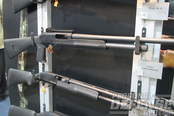 10 New Tactical Shotguns For 2014 | CZ612 Pistol Grip