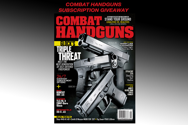 Combat Handguns Subscription Giveaway