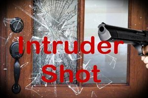 Intruder Shot Calls 911