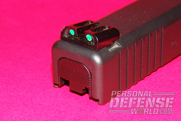 10 Ways to Customize Your Glock - TRUGLO Brite-Site Fiber-Optic Sights