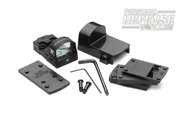 23 Tactical and Traditional New Optics for 2014 - Redfield Accelerator Reflex Sight Kit