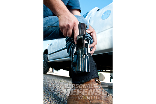 Hideaway Holsters: 8 Ways to Covertly Carry Your Weapon - Ankle Carry