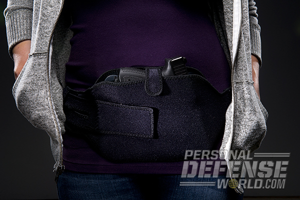 Hideaway Holsters: 8 Ways to Covertly Carry Your Weapon- Belly Band Carry