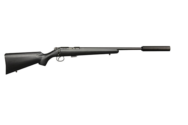27 New Rifles for 2014 - CZ-USA 455 American Synthetic Suppressor-Ready Rifle
