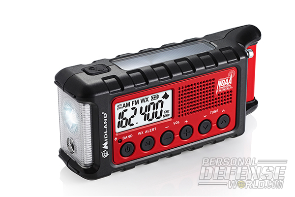 Top 20 New High-Tech Survival Products - Midland Emergency Crank Radio & Flashlight