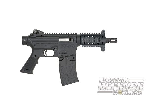 27 New Rifles for 2014 - Mossberg 715P 22LR Pistol