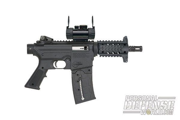 27 New Rifles for 2014 - Mossberg 715P Red Dot Combo 22LR Pistol