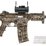 27 New Rifles for 2014 - Mossberg Duck Commander Series 715P Red Dot Combo 22LR Pistol