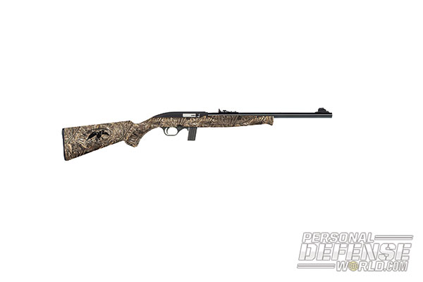 27 New Rifles for 2014 - Mossberg Duck Commander Series 702 Plinkster .22LR Rifle