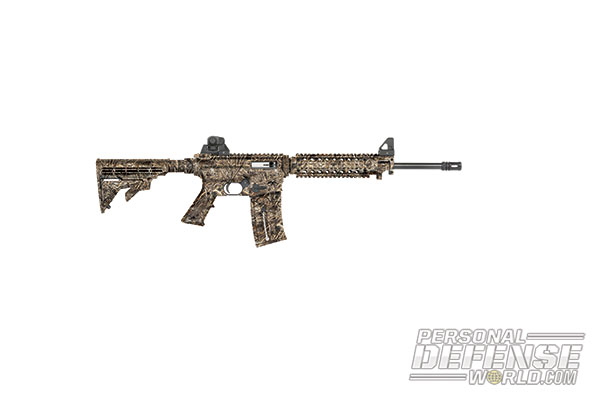 27 New Rifles for 2014 - Mossberg Duck Commander Series 715T Flat Top .22LR Rifle