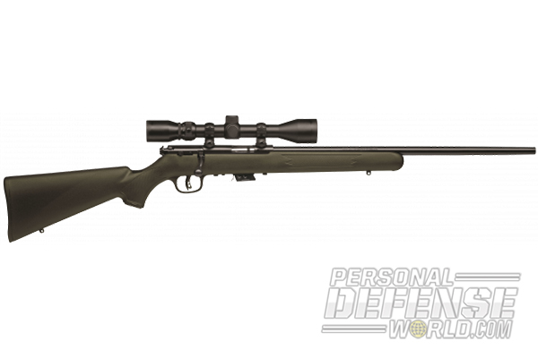 Making a Rim-pact: 13 New Rimfires in 2014 - Savage Mark II FXP, scoped