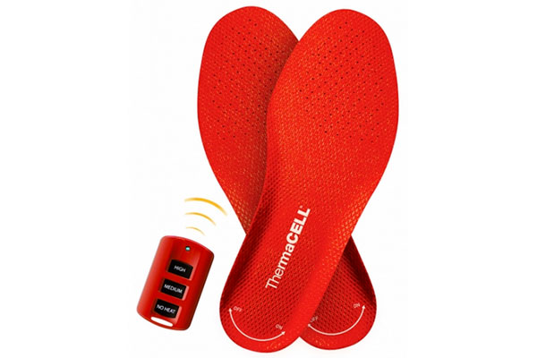 Top 20 New High-Tech Survival Products - ThermaCELL ProFlex Heated Insoles