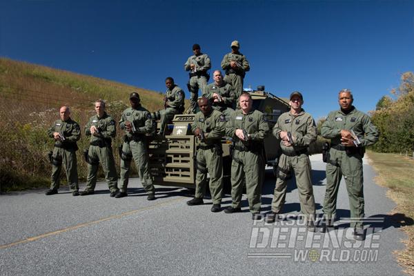 Atlanta PD SWAT Team with Glock 21 Gen4s .45 ACP