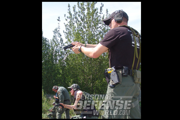 AST Training with GLOCK 22 Gen4