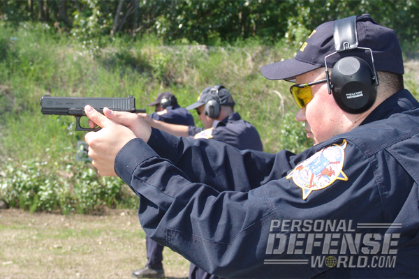 ATS training with the Glock 22 pistol