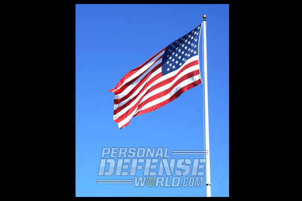 Our Stars and Stripes that sees the Americans honor our warriors on this day.