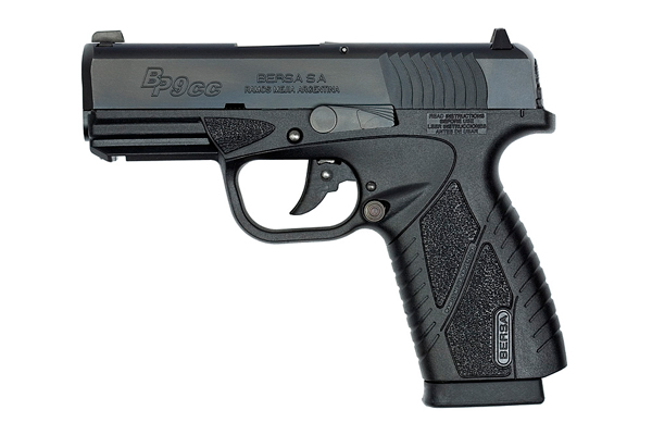 Bersa BP 9 Concealed Carry Pistol 9mm Black Matte