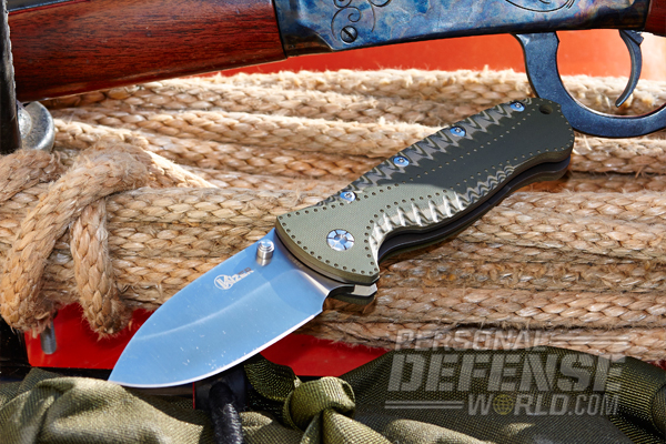 The Gingrich/Kizer Folding Knife