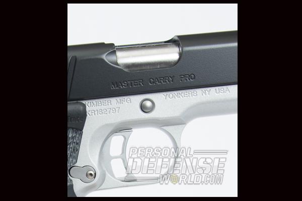 Kimber Master Carry Pro .45 ACP Handgun Trigger