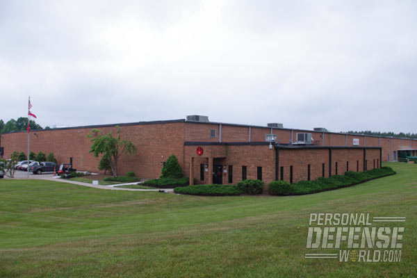 The new 220,000-square-foot Ruger facility in Mayodan, North Carolina, is home to production of the American Rimfire rifle as well as an unnamed secret project.