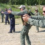 SERT summer school with GLOCK 22