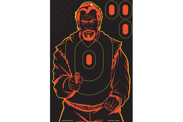 Birchwood Casey Bad Guy Shoot-N-C Target
