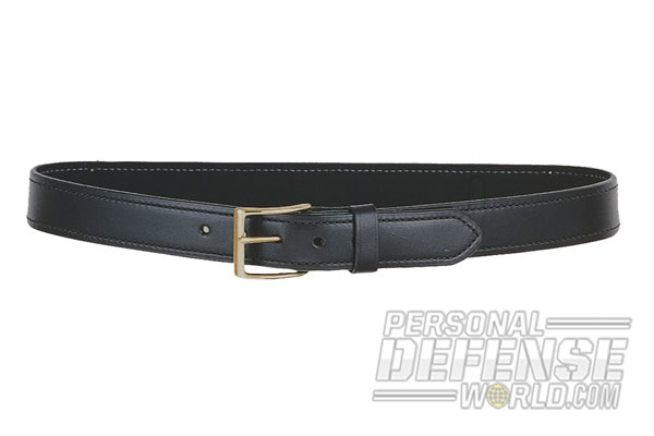 DeSantis Plain Lined Belt black