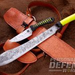 helm forge bush sword and cord wrapped blade